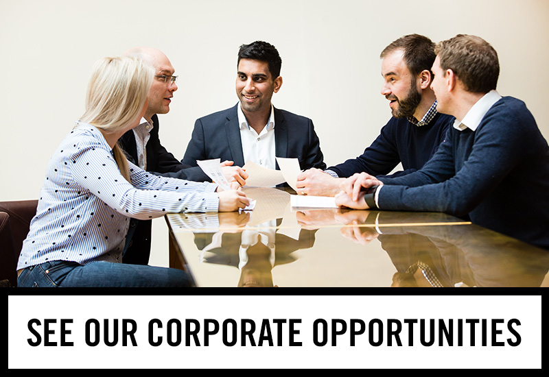 Corporate opportunities at The White Horse