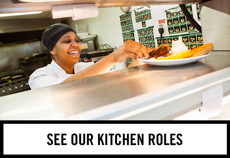Kitchen roles at The White Horse